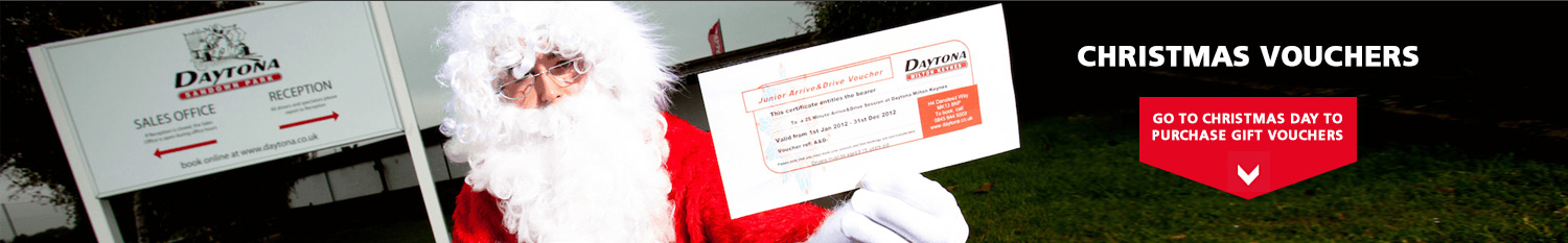 Christmas Vouchers - Available now! Go to Christmas Day to purchase