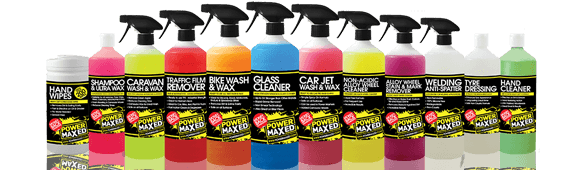 Power Maxed Cleaning Products Header