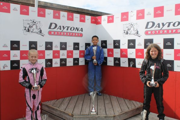 Daytona Sandown Park InKart Champs R8 Podiums
