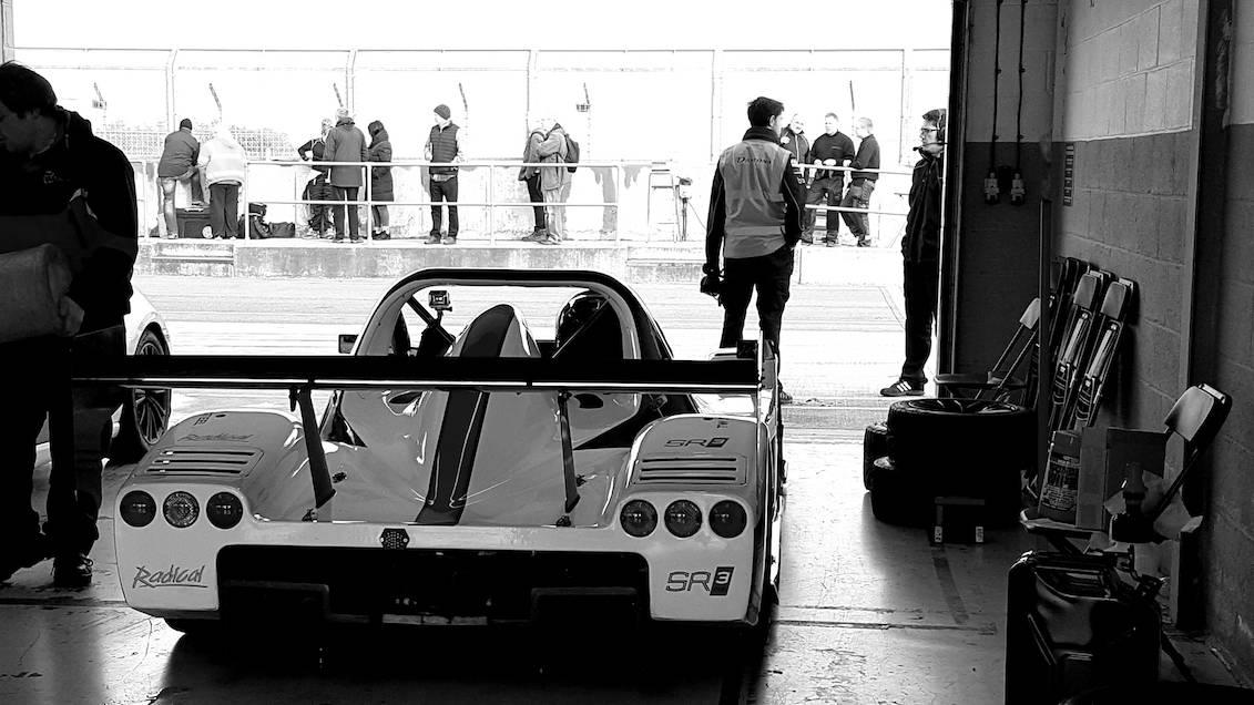 Daytona Radical Scores Second Place in Silverstone Thriller