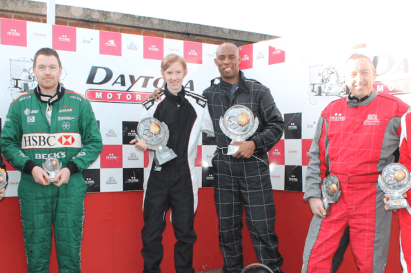 Winter D60 Champs Round 1 Podium