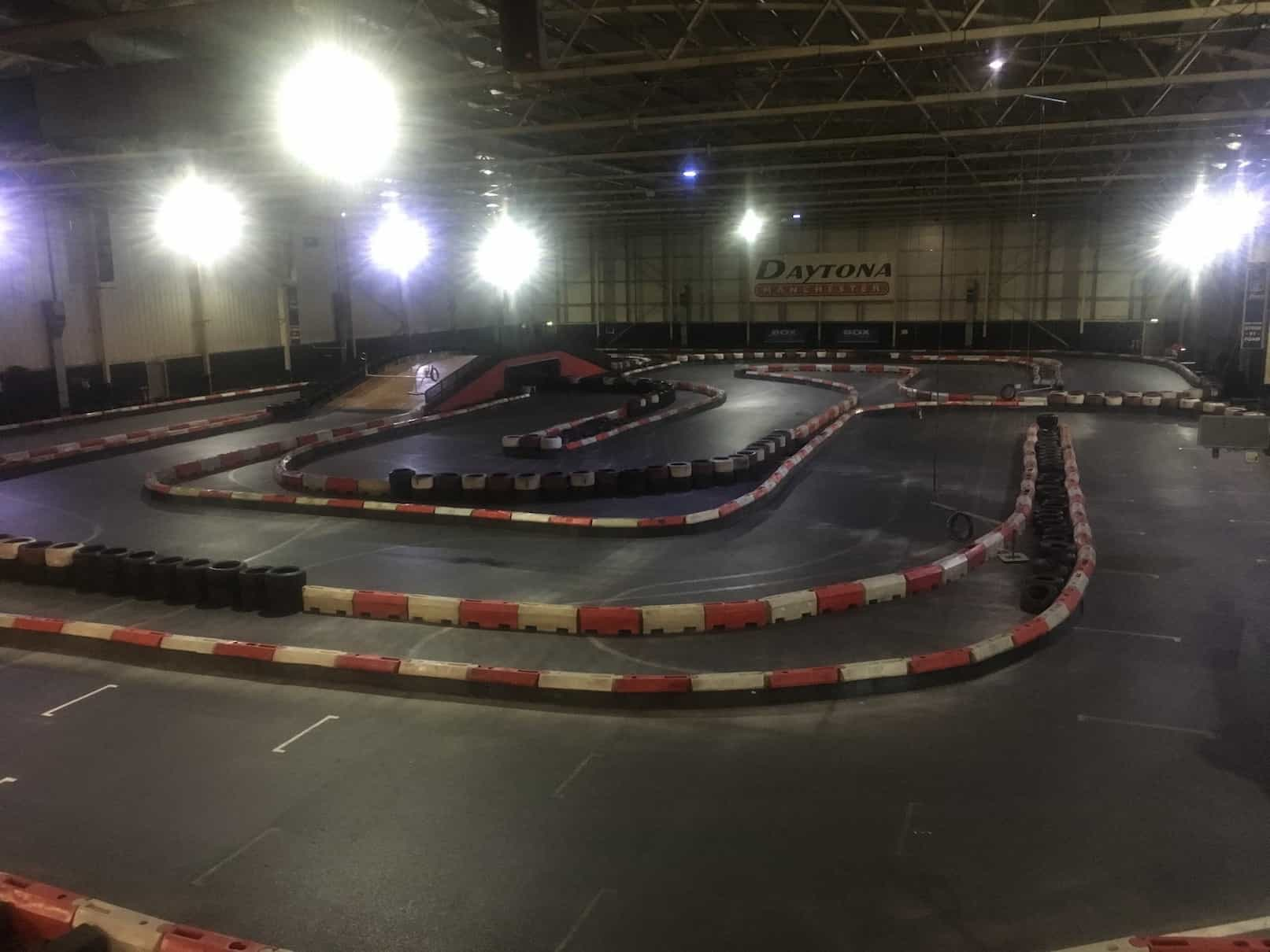 NEW GP CIRCUIT LAYOUT AT DAYTONA MANCHESTER