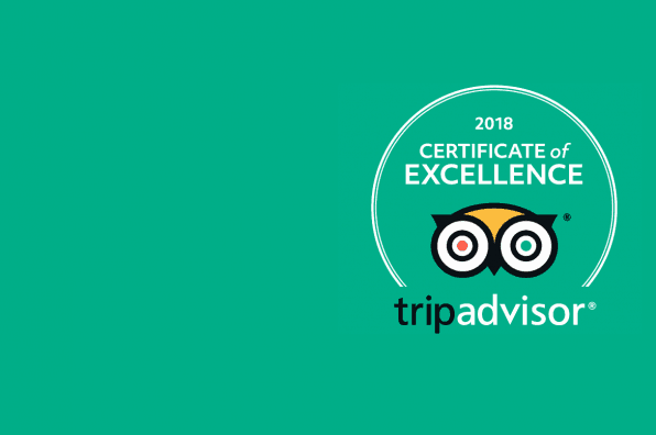 Daytona Awarded Four TripAdvisor 2018 Certificates of Excellence