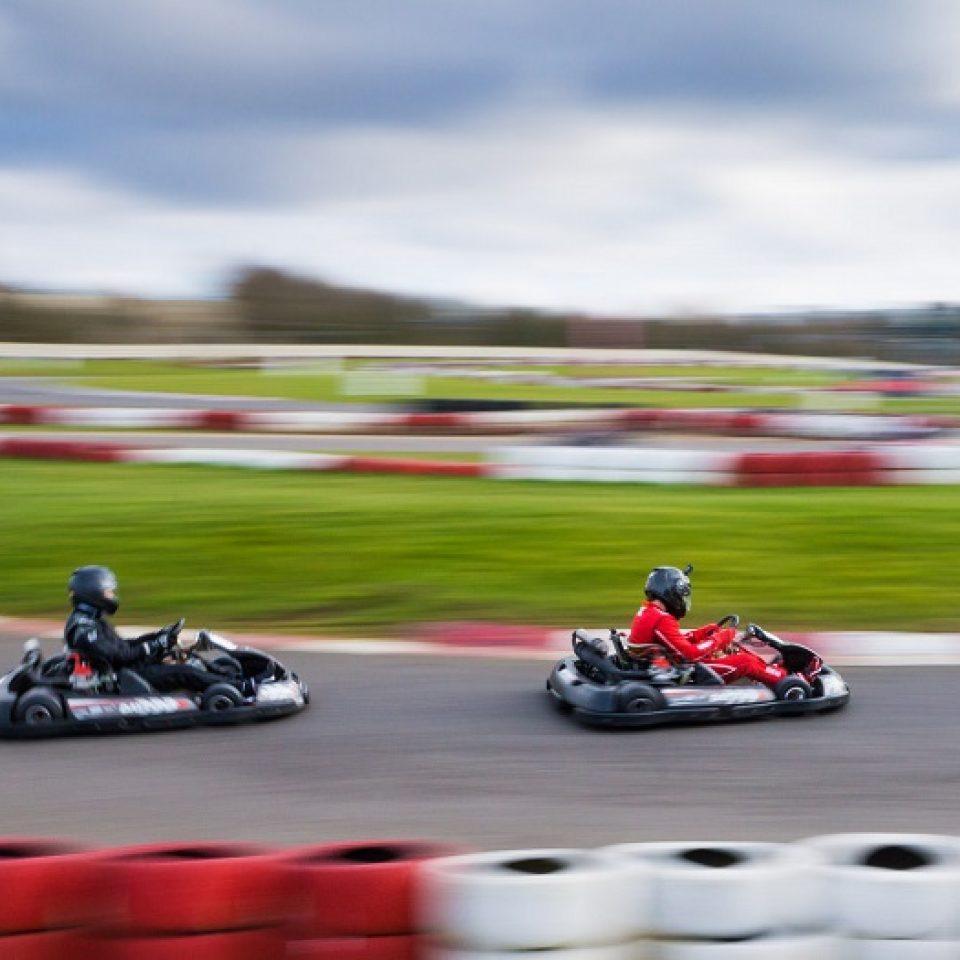 Outdoor Go-Kart Track in Buckinghamshire