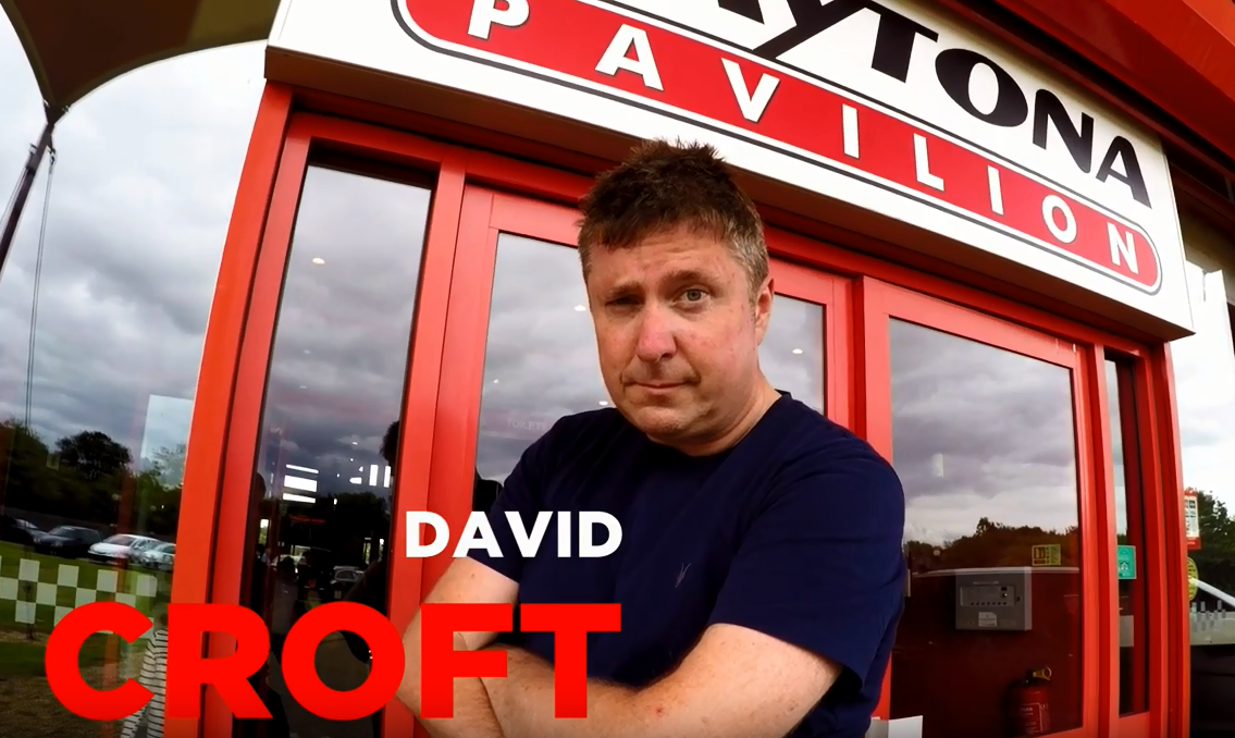 DAVID CROFT TAKES ON THE DMAX FAST LAP CHALLENGE