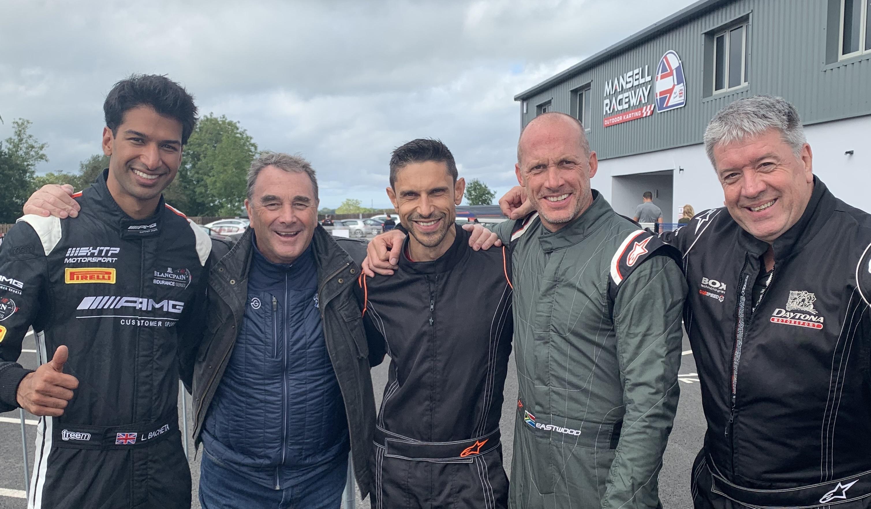 Daytona MOTORSPORT wins NIGEL Mansell Charity Race