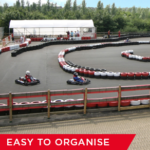Outdoor Go-Karting Birthday Parties near London, Birmingham and Buckinghamshire