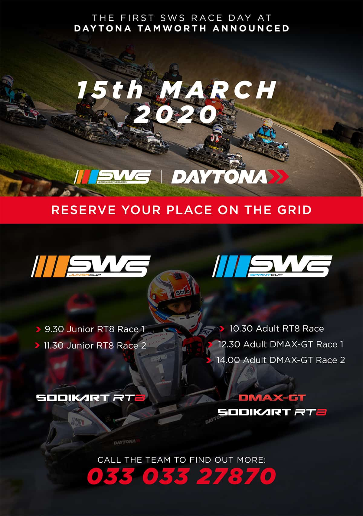 The First Sodi World Series Race Day Announced