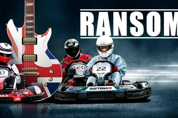 RANSOM RECORD EXCLUSIVE ROCK SONG FOR DAYTONA